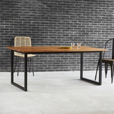 Table A Manger Bois Metal La Redoute