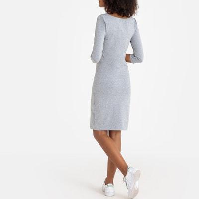 6ef8f420605a9c Aansluitende korte jurk met 3 4 mouwen LA REDOUTE COLLECTIONS