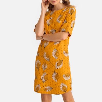 f1e10d1f3c3 Платье с английской вышивкой и цветочным рисунком Платье с английской  вышивкой и цветочным рисунком ANNE WEYBURN
