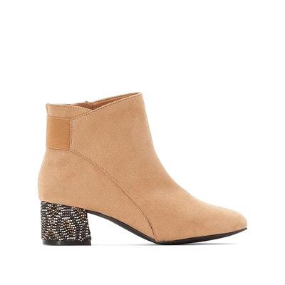 e9a5b27881d2 Boots à talon fantaisie Boots à talon fantaisie LA REDOUTE COLLECTIONS