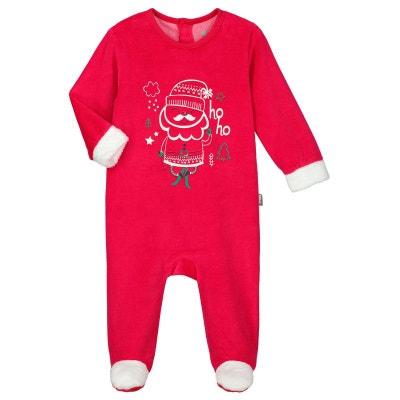 1a4a92eef0431 Pyjama bébé velours Ho ho Pyjama bébé velours Ho ho PETIT BEGUIN