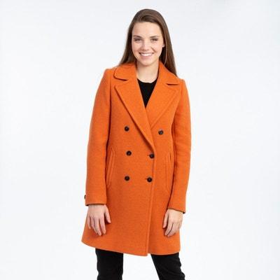 manteau rock orange mango
