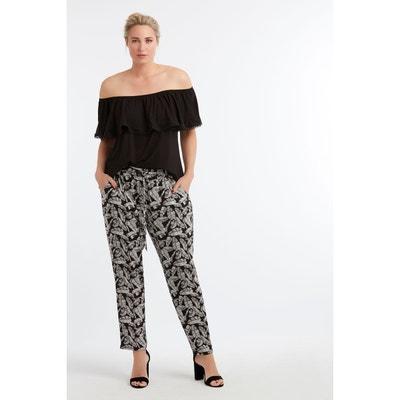 34ad331cd67 Pantalon coupe ample Pantalon coupe ample MS MODE