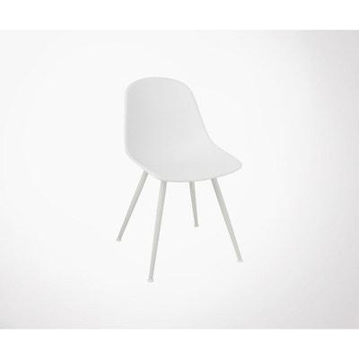 Chaise Blanche Moderne WHITE