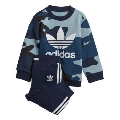 9939ed7ff4ca3 Ensemble Camouflage Crewneck Sweatshirt Ensemble Camouflage Crewneck  Sweatshirt adidas Originals