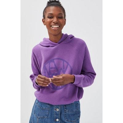 Sweat violet femme | La Redoute