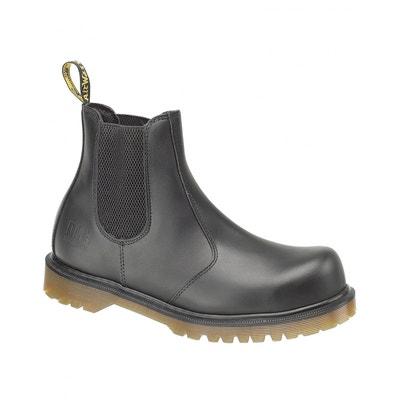 0a7aab9dc69861 Dr Martens Fs27 - Chaussures De Sécurité De Marchand, Noir, Eur 42-48