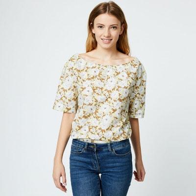 7b954397db Tee shirt manche courte femme en solde MONOPRIX | La Redoute