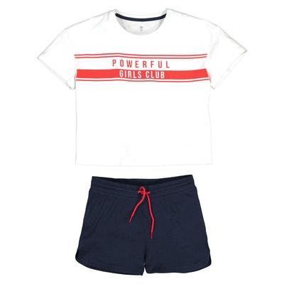 hot-vente dernier complet dans les spécifications super populaire Pyjama short ado | La Redoute