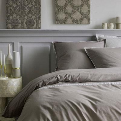 parure de lit rose poudre la redoute. Black Bedroom Furniture Sets. Home Design Ideas