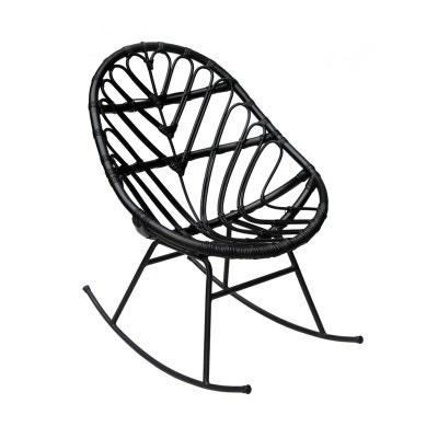 rocking chair noir la redoute. Black Bedroom Furniture Sets. Home Design Ideas