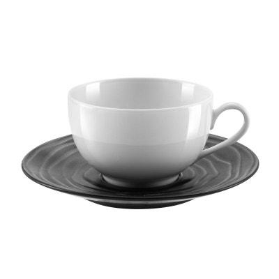 Lot de 6 tasses /à th/é double en verre r/ésistant /à la chaleur plateau et tasses pour adultes /à la maison ou au bureau avec infuseur amovible en acier inoxydable