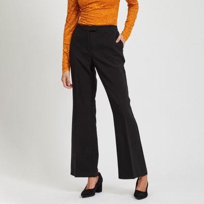 Wijde broek met hoge taille Wijde broek met hoge taille VILA