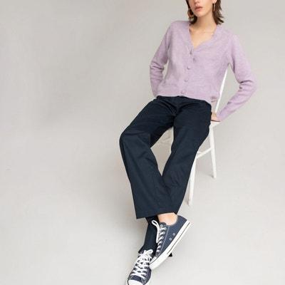 Pantalon De Vestir Azul Marino Mujer La Redoute