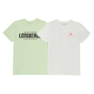 3651c8845256b Lote de 2 camisetas de manga corta