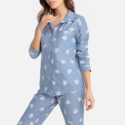 6d4bc45fe9936 Pyjama imprimé feuillage LA REDOUTE COLLECTIONS