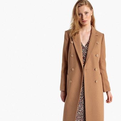c90b131a2 Manteau mi long laine femme   La Redoute