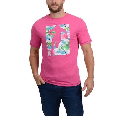 T-Shirt Chabal Island Fuschia T-Shirt Chabal Island Fuschia RUCKFIELD a5f5df5f523