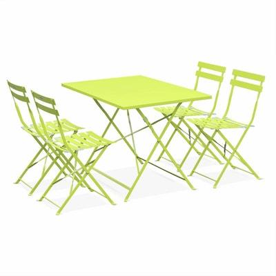 Salon de jardin pvc vert | La Redoute