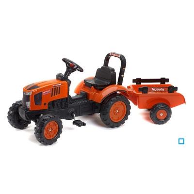 Tracteur à pédales Kubota avec remorque - FAL2065AB Tracteur à pédales  Kubota avec remorque - FAL2065AB. FALK 53ff1c9c07e2