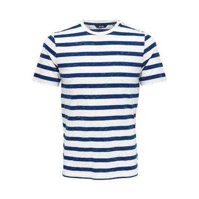 T-Shirt À rayures T-Shirt À rayures ONLY ET SONS 700f259942b2