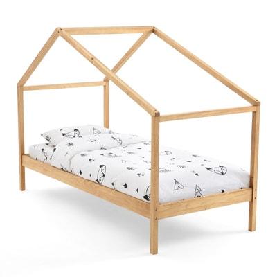 Caban bed in massief dennenhout met lattenbodem Spidou Caban bed in massief dennenhout met lattenbodem Spidou LA REDOUTE INTERIEURS