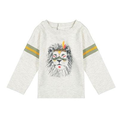 T-shirt imprimé manches longues 1 mois - 3 ans T-shirt imprimé manches. La  Belle Affaire. LA REDOUTE COLLECTIONS 30e8127a6fc