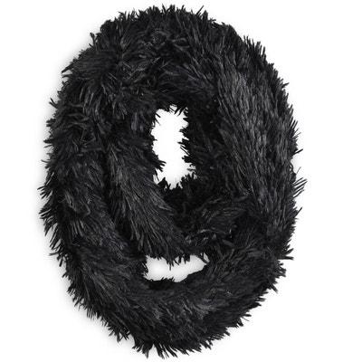 034fc120531 Snood PILOU Noir Snood PILOU Noir ALLEE DU FOULARD. «