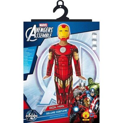 Avengers - Déguisement Luxe Rembourré Iron Man Assemble - Taille M -  RUBI-887751M RUBIE S 3fa86a24559f