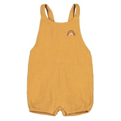 ZAXARRA Infant Baby Girls Overalls Sleeveless Romper Bodysuit Short Jumpsuit Pants Clothes