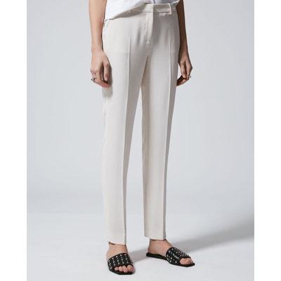 Tailleur pantalon femme beige   La Redoute