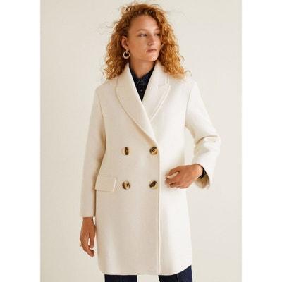 cfed7592073 Manteau en laine boutonné Manteau en laine boutonné MANGO. «