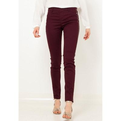 2c7ff5be3 Pantalon bordeaux femme   La Redoute