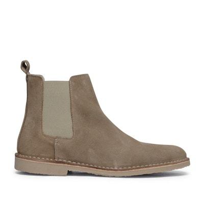 07305481e56 Chelsea boots en daim Chelsea boots en daim SACHA