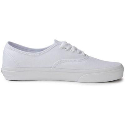 vans authentic blanche femme