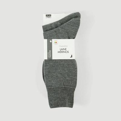 2b69fed4158 Lot de 2 paires de chaussettes en laine MONOPRIX
