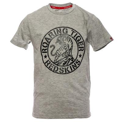 1c306c1eb81be T-shirt imprimé manches courtes 10-16 ans T-shirt imprimé manches courtes.  REDSKINS