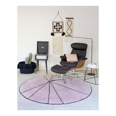 tapis rond 160 la redoute. Black Bedroom Furniture Sets. Home Design Ideas