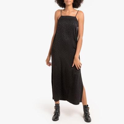 Rechte jurk, lang, smalle schouderbandjes Rechte jurk, lang, smalle schouderbandjes LA REDOUTE COLLECTIONS