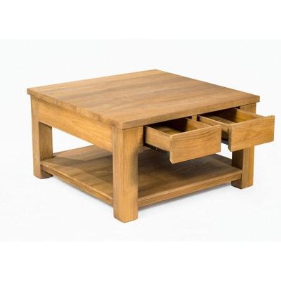 Table Basse Relevable Bois Massif La Redoute