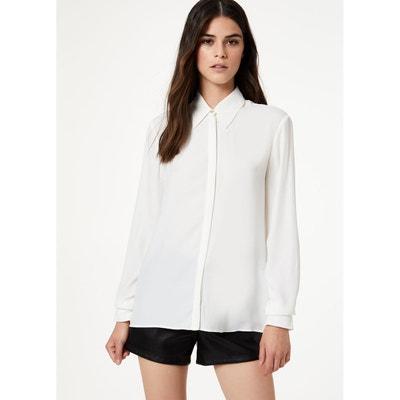 beaucoup de choix de design de qualité 2019 original Chemise en soie blanche femme | La Redoute
