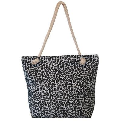 0b414b03ed015 Grand sac de plage léopard Grand sac de plage léopard CHAPEAU-TENDANCE