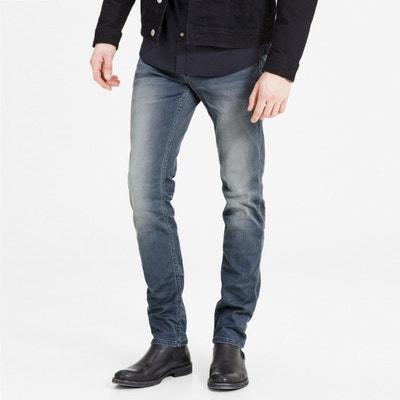 riesige Auswahl an super günstig im vergleich zu eine große Auswahl an Modellen Men's Slim Fit Jeans | JACK & JONES | La Redoute