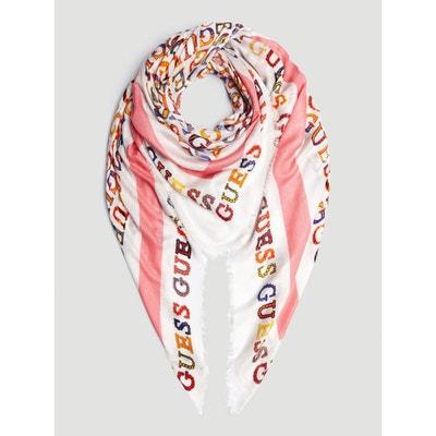 0ba1f77be2f5 écharpe, foulard femme Guess en solde   La Redoute