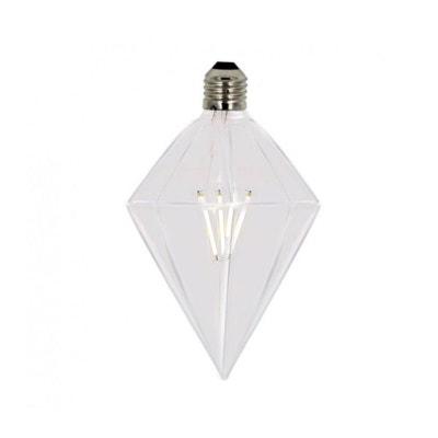 Ampoule Diamant Déco Design à Filaments Led E27 Diam. 100mm Ampoule Diamant  Déco Design à