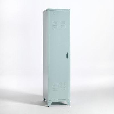 Kast, US vestiaire met 1 deur in metaal, Hiba Kast, US vestiaire met 1 deur in metaal, Hiba LA REDOUTE INTERIEURS