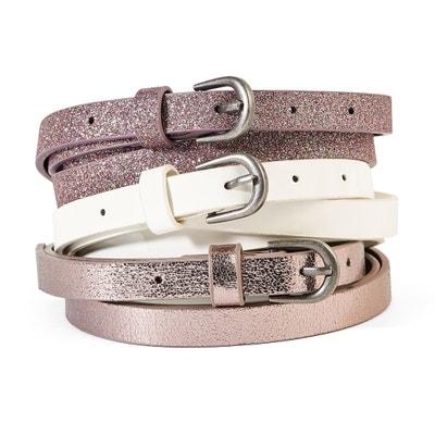 9bf3b2709e30 Lot de ceintures Lot de ceintures LA REDOUTE COLLECTIONS