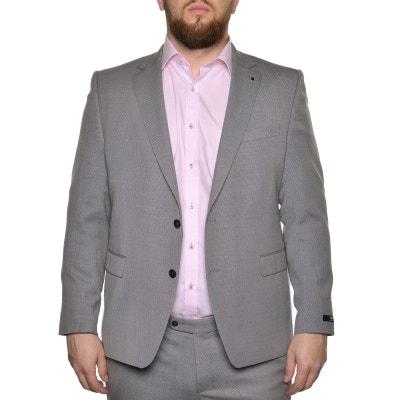 Veste de costume daren gris chiné Veste de costume daren gris chiné LA MODE  EN LARGE 9c629cb04d1