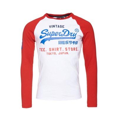 629b410ca5b T-shirt Shirt Shop Tri Raglan SUPERDRY