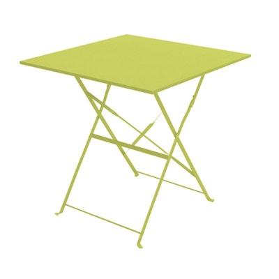 Table de jardin plastique vert en solde | La Redoute